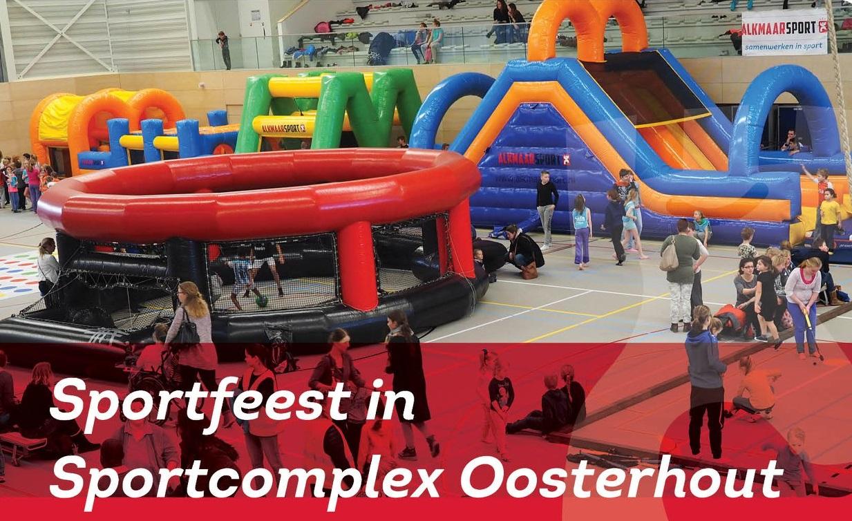 Sportfeest In Sportcomplex Oosterhout